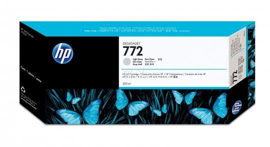 HP 772 Tinte hell grau 300ml