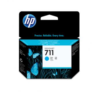 HP 711 Tinte cyan 29 ml