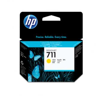 HP 711 Tinte gelb 29 ml