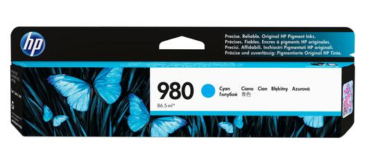 HP 980 Tinte cyan