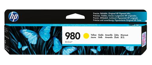 HP 980 Tinte gelb