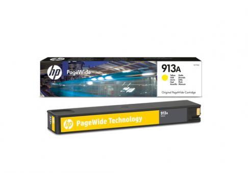 HP 913 gelb PageWidePatrone