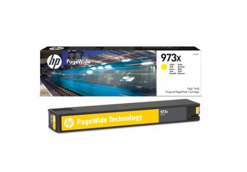 HP 973X gelb PageWidePatrone