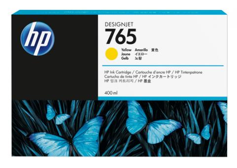 HP 765 400 ml Tintenpatrone gelb