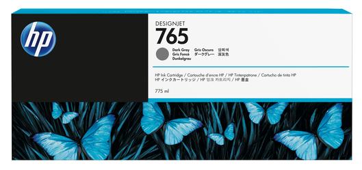 HP 765 775ml Tintenpatrone dunkelgrau