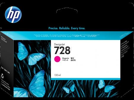 HP 728 Tinte magenta 130ml