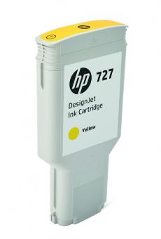 HP 727 Tinte gelb 300ml