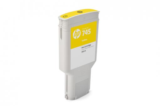 HP 745 Tinte gelb 300 ml