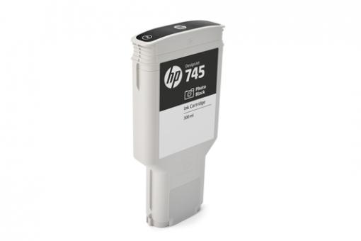 HP 745 Tinte fotoschwarz 300ml