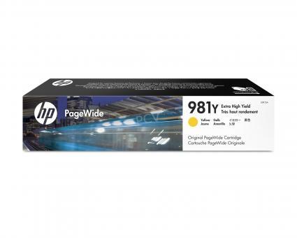 HP 981Y gelb PageWidePatrone