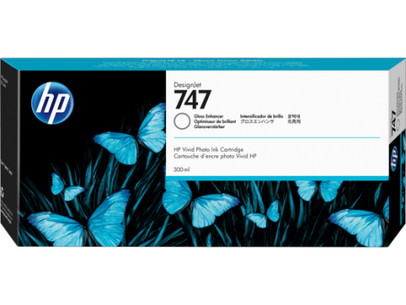 HP 747 Tinte gloss enhancer 300 ml