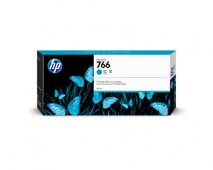 HP 766 Tinte Cyan 300ml