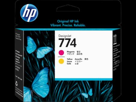 HP 774 Druckkopfhell magenta - hell cyan Designjet Z6810