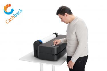 HP DesignJet T250, max. Druckbreite 61 cm