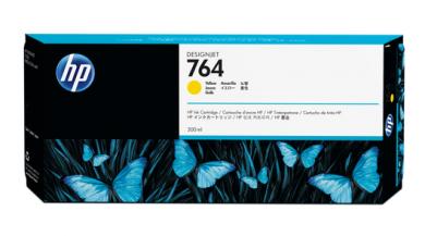 HP 764 Tinte Gelb 300ml