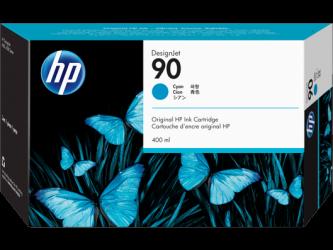HP 90 Tinte cyan 400ml