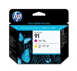 HP 91 Druckkopf magenta und gelb