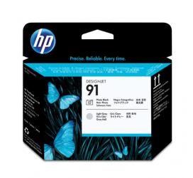 HP 91 Druckkopf schwarz Foto und grau hell