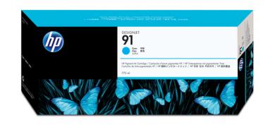 HP 91 Tinte cyan Vivera 775ml