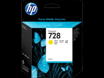 HP 728 Tinte gelb 40ml