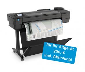 HP DesignJet T730, max. Druckbreite 91,4cm